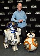 C-3POを演じるアンソニー・ダニエルズ。