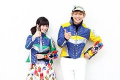 左から大久保桜子、榊原徹士。