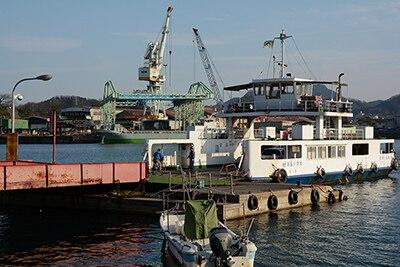 福本渡船のフェリー乗り場。(写真提供:おのなび)