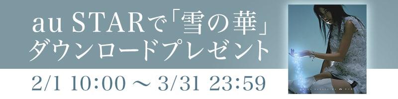 映画『雪の華』auスペシャルサイト