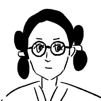 大橋裕之が描いた安藤政信の似顔絵イラスト。