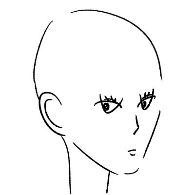 大橋裕之が描いた松井玲奈の似顔絵イラスト。