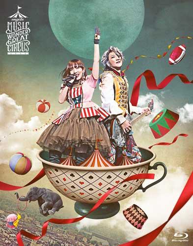 angela「angelaのミュージック・ワンダー★大サーカス 2019 LIVE Blu-ray」