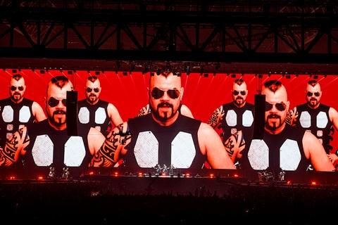"BABYMETAL「METAL GALAXY WORLD TOUR IN JAPAN EXTRA SHOW『LEGEND - METAL GALAXY』」の様子。(撮影:瀧本""JON...""行秀)"