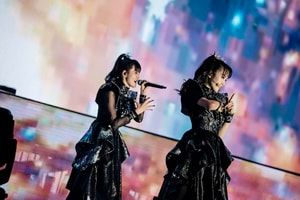 「METAL GALAXY WORLD TOUR IN JAPAN EXTRA SHOW『LEGEND - METAL GALAXY』」1月26日公演の様子。(Photo by Taku Fujii)