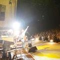 5月4日に日比谷野外大音楽堂で行われた「Caravan LIVE EXTRA 2012 みどりの日」の様子。