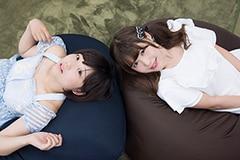 左から小山ひな(神宿)、桧垣果穂(Luce Twinkle Wink☆)。
