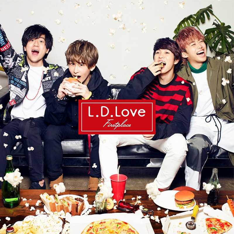 First place「L.D.Love」初回限定盤B