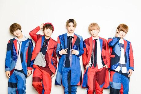 CUBERS。左から末吉9太郎、優、TAKA、春斗、綾介。