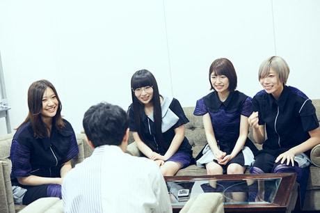 Maison book girlと金澤ダイスケ。