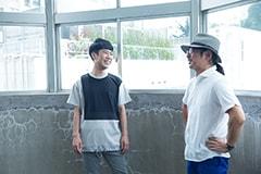 左から藤井隆、冨田謙。