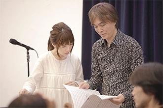 「藤田麻衣子オーケストラコンサート2019」リハーサルの様子。