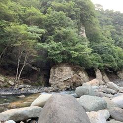 「youthful days」MV撮影後に遊んだ川。