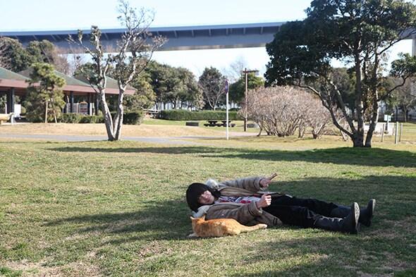 銀杏BOYZ写真集「純血」収録写真(撮影:村井香)