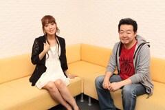 写真左から日笠陽子、長濱博史。