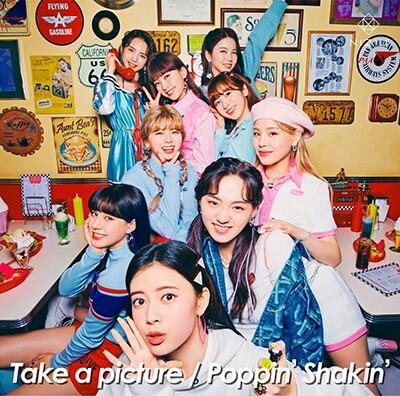NiziU「Take a picture / Poppin' Shakin'」通常盤