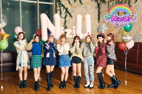 「We NiziU! TV」全話 Huluで独占配信中©2020 Sony Music Entertainment (Japan) Inc./JYP Entertainment. ©2020 HJ Holdings, Inc./ ©NTV