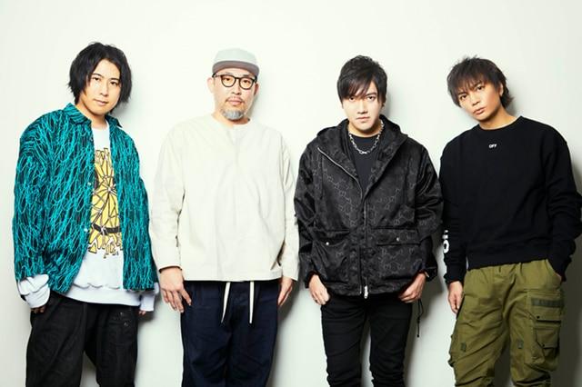 左から白井悠介、ALI-KICK、TeddyLoid、浅沼晋太郎。
