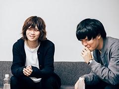 左から羽深創太(ジョゼ)、渡井翔汰(Halo at 四畳半)。