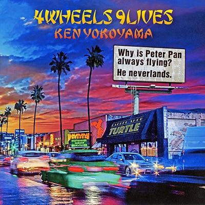 Ken Yokoyama「4Wheels 9Lives」CD+DVD