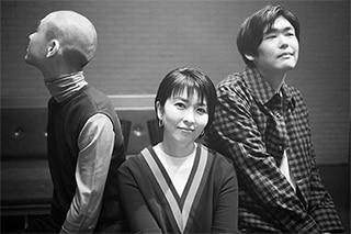 左からKID FRESINO、松たか子、STUTS。(Photo by seiji shibuya)