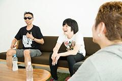 左から、カンパニー松尾、成田大致、吉田豪。