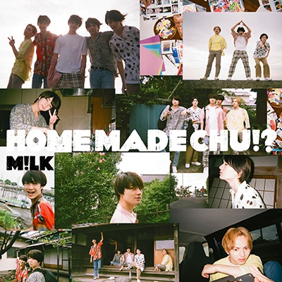 M!LK「HOME MADE CHU!?」初回限定盤