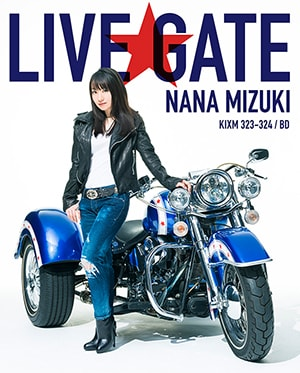 水樹奈々「NANA MIZUKI LIVE GATE」Blu-ray Disc