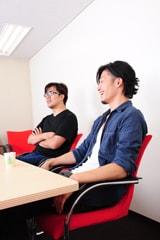インタビュー風景