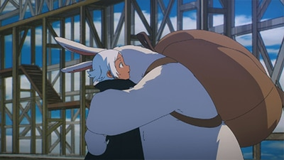 Myuk「魔法」ミュージックビデオのワンシーン。