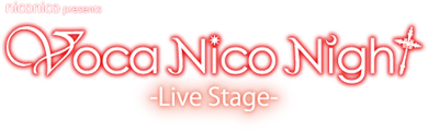 「Voca Nico Night -Live Stage-」ロゴ画像