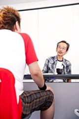 写真左から吉田豪、和嶋慎治