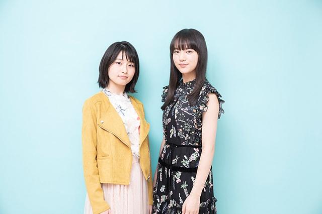 左からほのか(No title)、清原果耶。