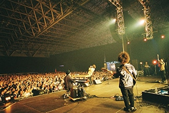 Nulbarichのライブの様子。(撮影:佐野円香)