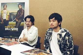 左から常田大希(Vo, G)、井口理(Vo, Key)。