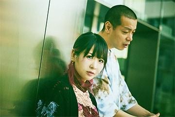 左から大森靖子、峯田和伸(銀杏BOYZ)。