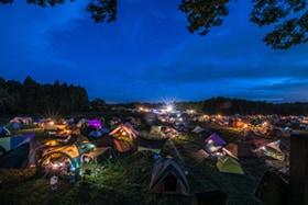 「PEANUTS CAMP 2017」の様子。