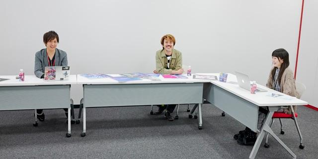 左から仁田俊秀、木村将人、冨永美咲。