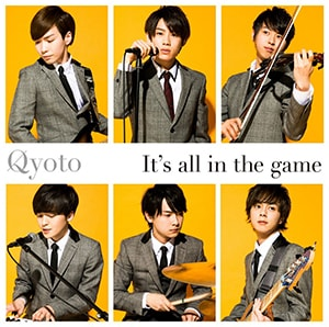 Qyoto「It's all in the game」通常盤