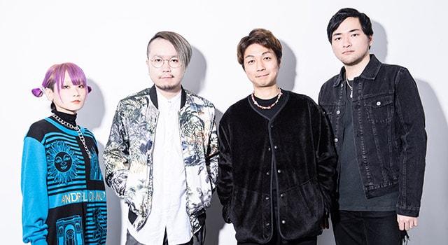 左からReol、Giga、ケンモチヒデフミ(水曜日のカンパネラ)、Masayoshi Iimori。