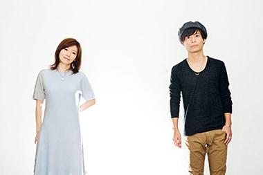 左から柴田淳、中田裕二。