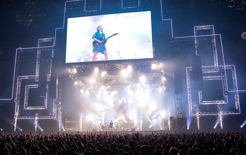 「VIVA LA ROCK」出演中の1枚。