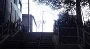 「少年ハリウッド -HOLLY STAGE FOR 49-」で描かれる街の風景。