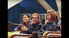 映画「SOUNDS LIKE SHIT : the story of Hi-STANDARD」のワンシーン。
