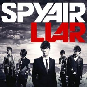 2010年8月リリースのシングル「LIAR」ジャケット。