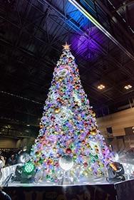 クリスマスツリー(撮影:北村勇佑)