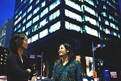 左から山田将司(Vo)、菅波栄純(G)。