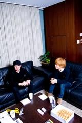 吉田佳史(左)、中田裕二(右)