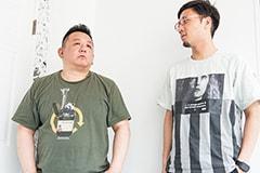 左から松井寛、tofubeats。