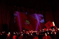 「革命的ブロードウェイ主義者同盟 総決起集会」の様子。